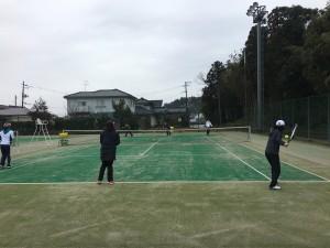 小須戸運動広場テニスコート①